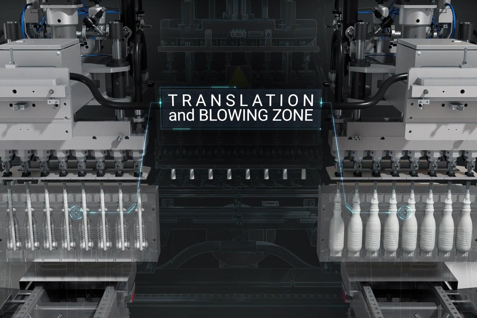 Tecnologia dello stampaggio per soffiaggio